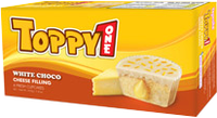 Toppy one White chocolate Cheese 210gr with box Fresh cake
