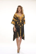 Beach kaftan Digitally Printed