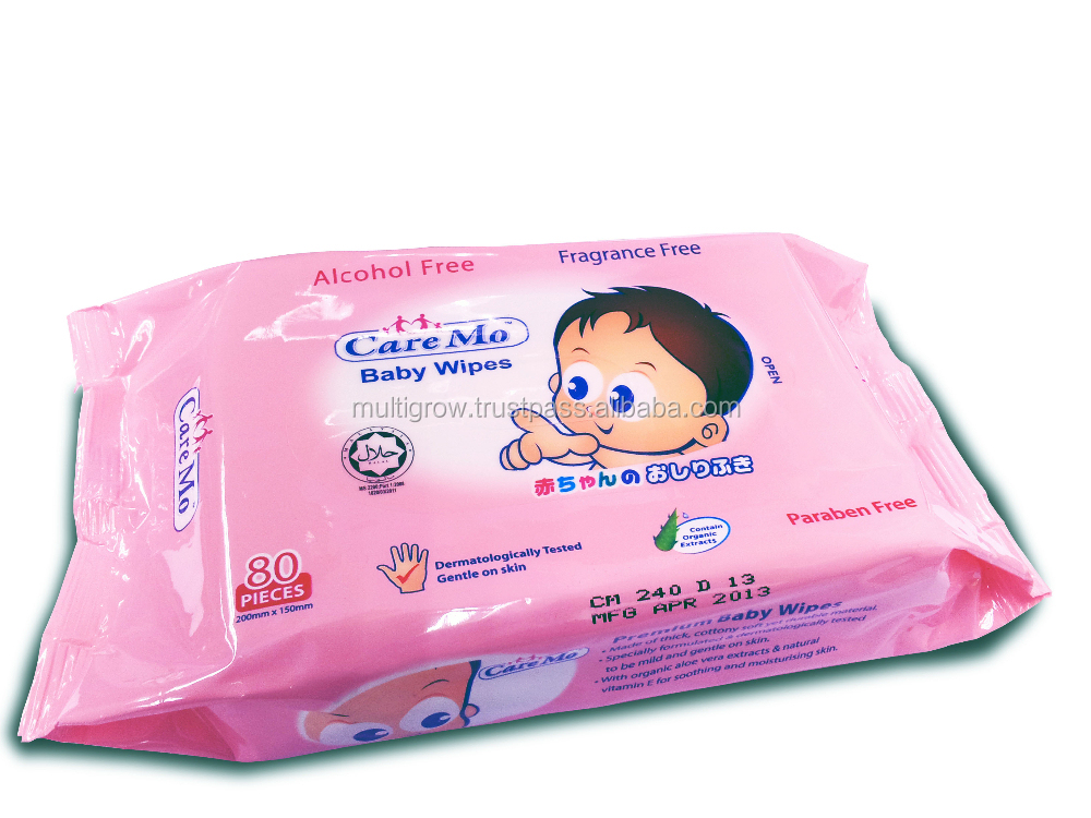 Alcohol Free Baby Wipes 80's (FF)