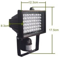 264 Camera Motion Detection LED Flood Lights With TF Card Slot - Big