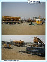 High Efficiency 50 TPH Hot Mix Asphalt Plant