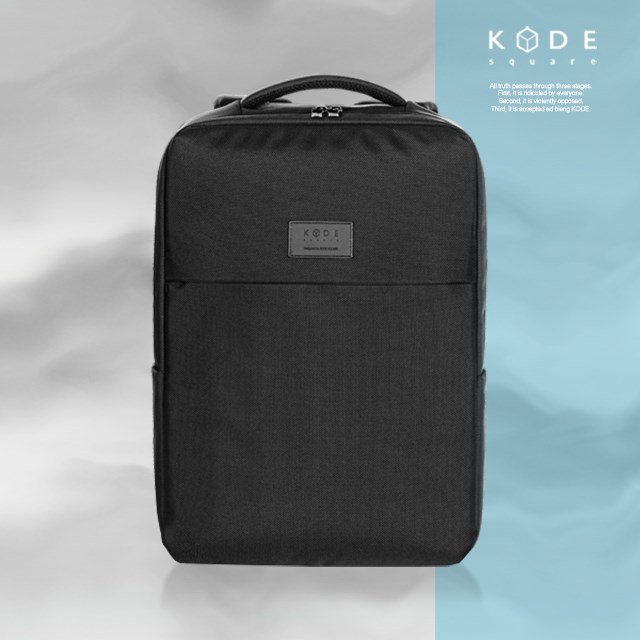 [KODE SQUARE] 15.6 inch business laptop bags travel backpacks (KCWM-BP-004-BK)