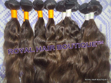 100% pure temple indian hair bundles loose body wave/INDIAN virgin hair/ high quality cheap indian ocean wave hair