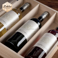 Wooden Gift Boxes for Wine 1, 2, 3, 5, 6 bottles, quality, exclusive design, customer's production is available
