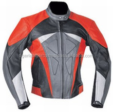 various colors leather jackets