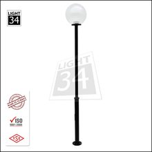 Globe Armature Park Yard Lamp Post Cheap Street Lighting Pole