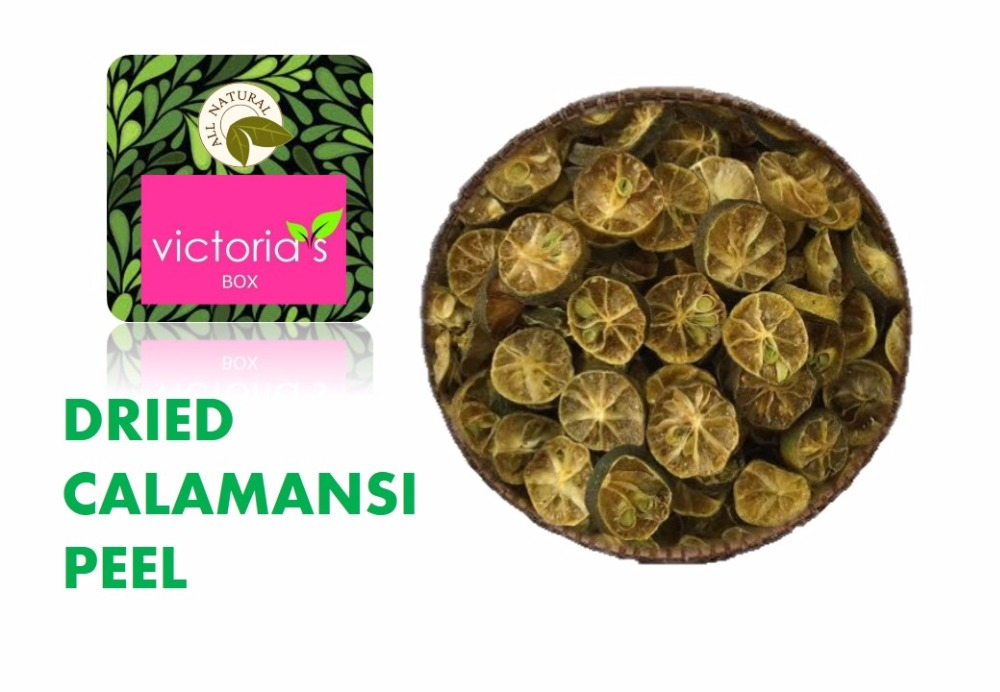 DRIED CALAMANSI PEEL