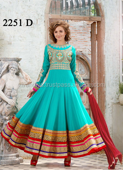 Indian Fancy Wedding Dress 2016 | Anarkali Suits | Salwar Kameez
