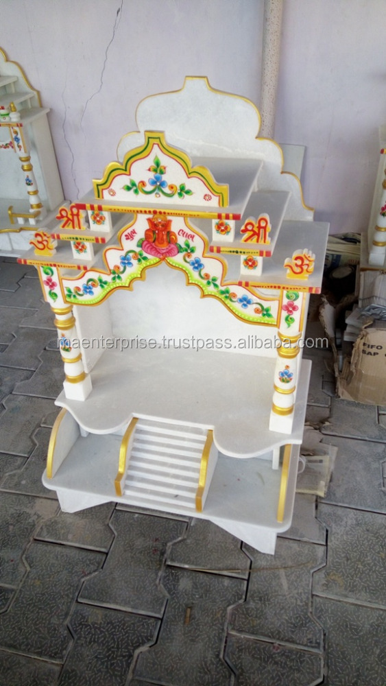 Marble Mandir Designs For Home. Small Marble Temple For Home. Marble ...