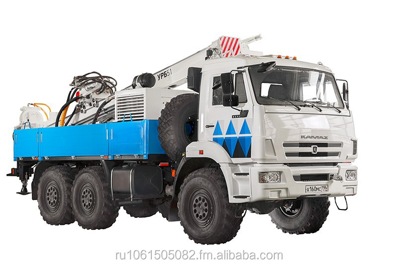 Drilling Rig for Geological Exploration mounted on Truck