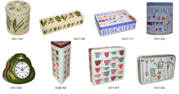 Grandma Wild's Biscuits with variety Tins Selection 6 x 300g