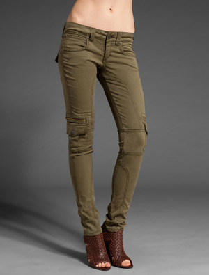 slim cargo pants women - Pi Pants