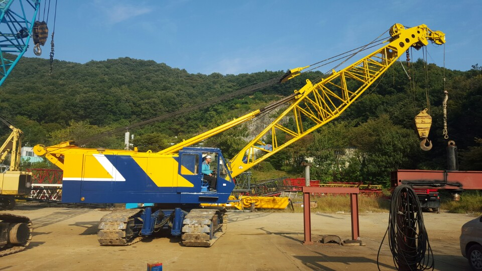 [ Winwin Uesd Machinery ] Used Crawler crane KOBELCO 7080 1990yr For Sale