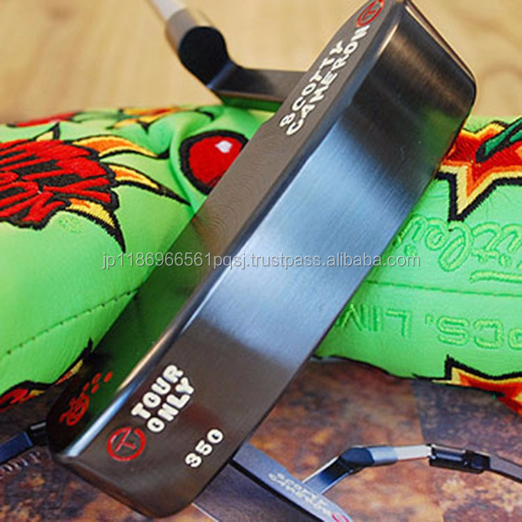 Luxurious Golf Club Head Cover Putter Scotty Cameron 2016 009 TOUR PROTOTYPE Putter 34inch Jordan Spieth Headcover