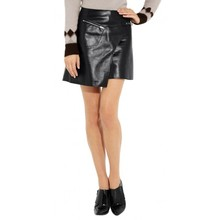 cheap leather skirt /genuine leather skirt /ladies long leather skirts