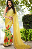 Charming Multi Color Party Wear Jacquard Saree with Border