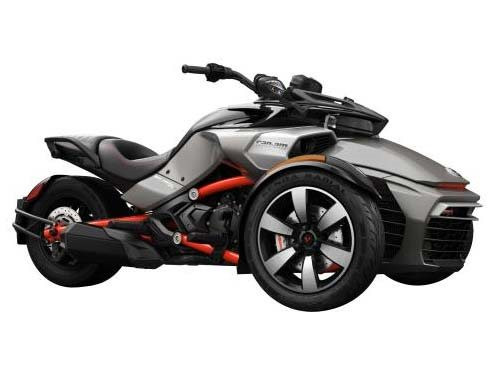 2016 Can-Am Spyder F3-S SM6 Pure Magnesium Metallic