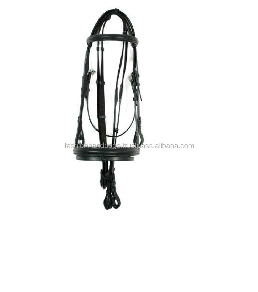 Buy New Wholesale Horse Saddlery Products Real Leather Comfortable Bridle