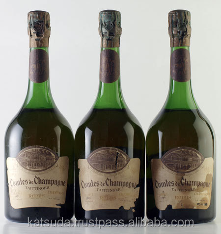 1961 Taittinger Comtes de Champagne french champagne brands
