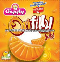 Blended Vitamin C Fruity Center Filled Orange Jelly