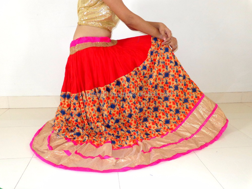 Indian Printed Skirt-Indo western skirt-summer special skirt-long cotton block printed skirts-Bollywood skirts