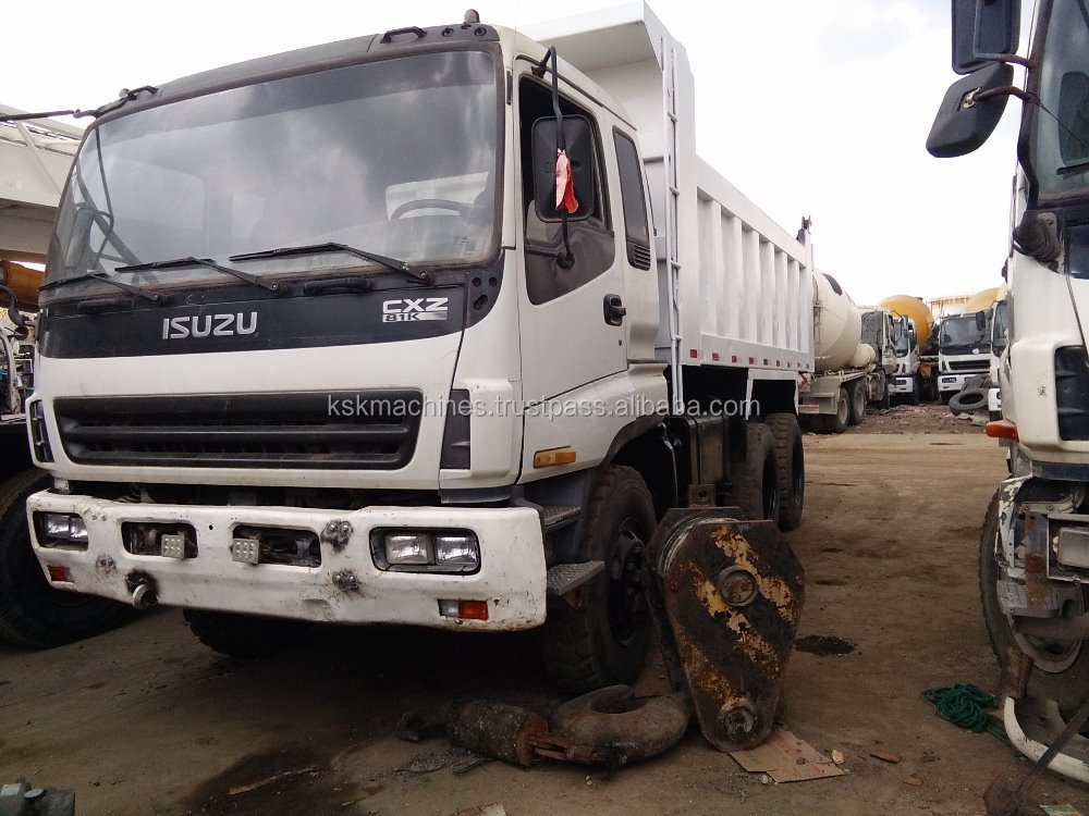 Cheap price Isuzu good condition dump truck for sale