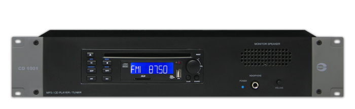 CD/MP3/AM-FM Tuner