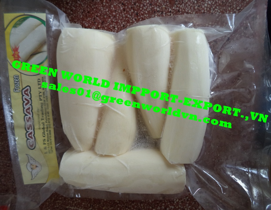 FROZEN CASSAVA WITH BEST PRICE FROM VIETNAM