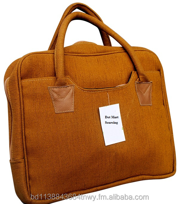Jute Note book/Laptop Bags