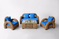 Zunica Living set of rattan furniture
