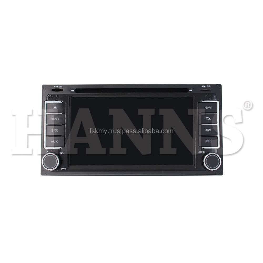 Hanns Plus Car Android DVD Multimedia Player with reversing camera and parts for toyota general