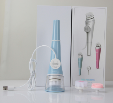 personable face cleansing wireless charging cleansing brush