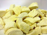 Freeze Dried Durian, Durian Monthong, Thailand, 100% Natural, Dried Fruit