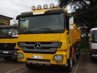 USED MERCEDES BENZ DUMP TRUCK 41.48