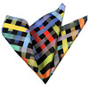 Checked Pocket Square, Production, Manufacturing, custom, Hankercheif,