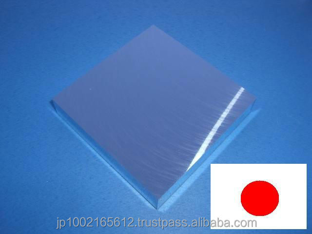 innovative aluminum case with protection vinyl made in Japan