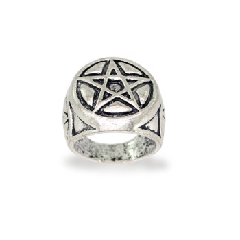 Jaipur Mart Wholesale Oxidised Rings Silver Plated Jewelry Stunning Star Theme Design Finger Ring for Fashion Men