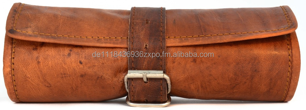 Leather Bag Pencil Pen Case Gusti Leather