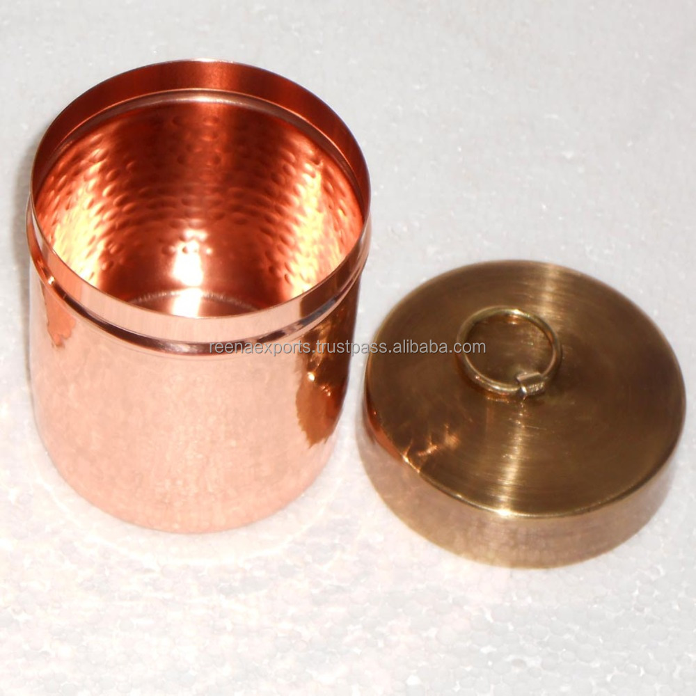 Hot Sale Product Copper Candle Jar / Container