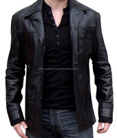 The New 2016 Leather Jackets For Men Leather Fashion Mens Leather Jacket Collar Fur Clothing