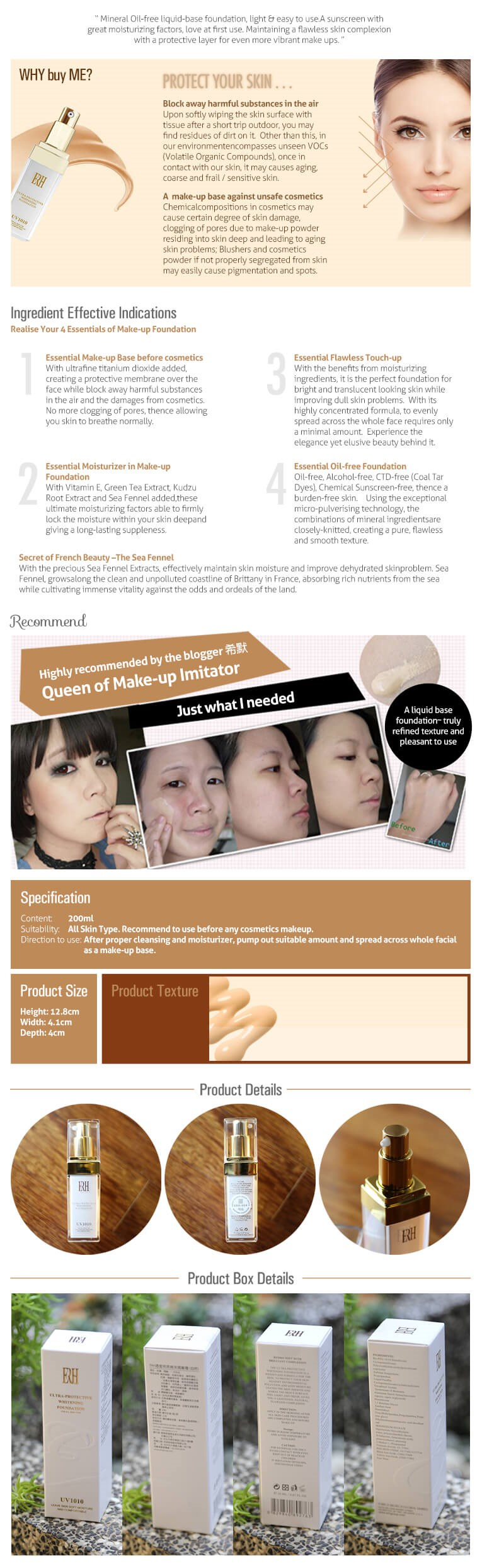 Makeup Base Liquid Foundation Halal Makeup Air Cc Cushion Cream ...