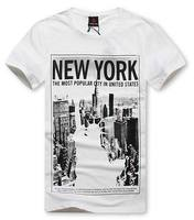 Latest fashion printed t shirt for men