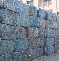 OFFER PET BOTTLES 100% CLEAR SCRAP - WASTE BALES