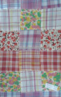 cotton satin patchwork fabric