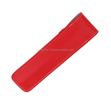 High Quality Single Pen Special Style Red Leather Case New