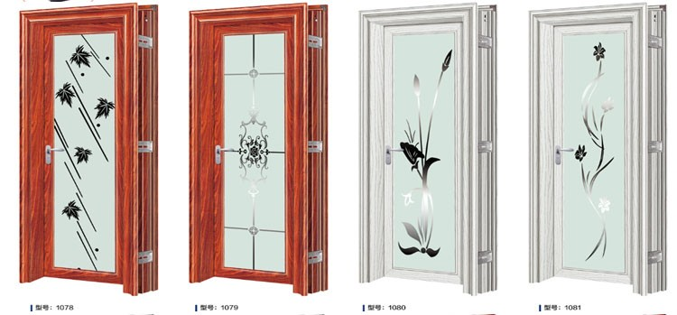 modern aluminium bathroom doors and window aluminum frame glass door