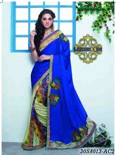 plain crepe saree/hand embroidery designs for saree pallu/banarasi kora organza saree/LM