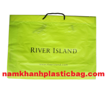 HDPE cloth dry ice bag drawstring plastic bag
