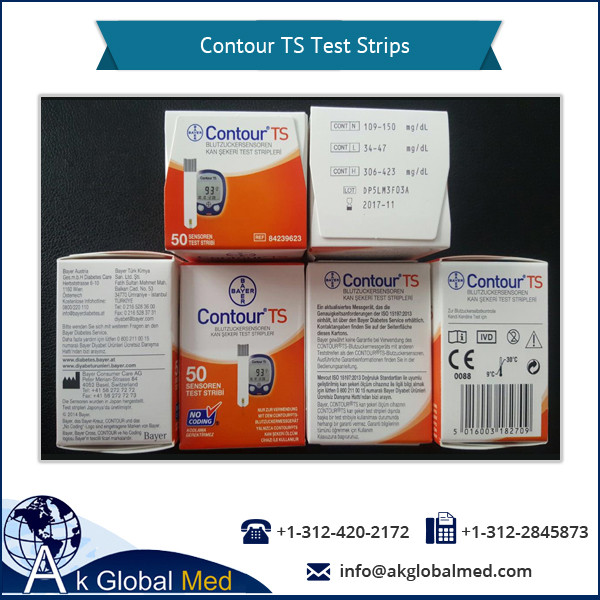 Hassle Free Use Contour TS Diabetic Test Strips for True and Simple Results