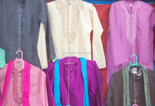 Lot of 50 Pieces designer kurta pajama for men